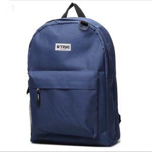 "TRUE Backpack 17"" Navy"